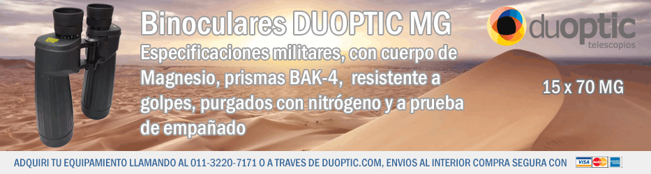 Duoptic MG Binoculares