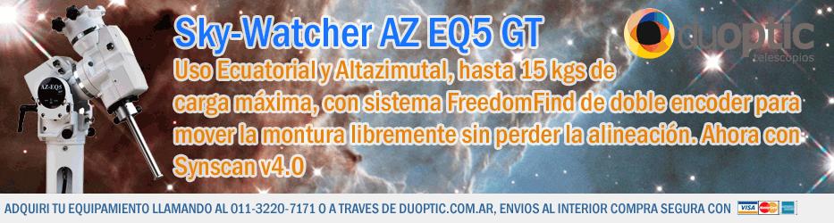 Sky-Watcher AZEQ5 GT
